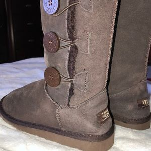 UGG Australia brown boots size 5